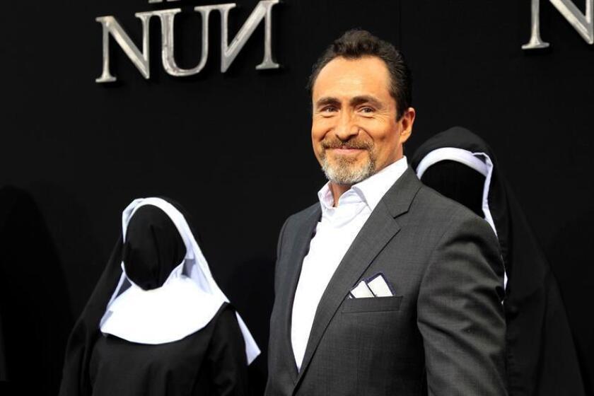 """El actor mexicano Demian Bichir posa durante la presentación mundial de la película """"The Nun"""" (La Monja) en el Teatro Chino TCL de Los Ángeles, California (EEUU), USA. EFE/Archivo"""
