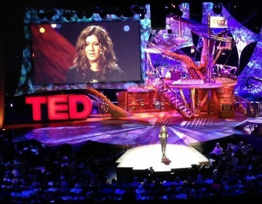 Silicon Valley strategist Nilofer Merchant argues Tuesday at the TED conference that all the sitting people do is ruining their health.