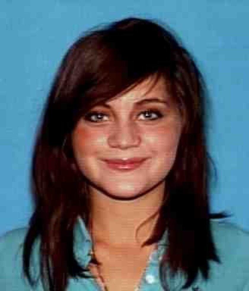 Train crash victim Anastasia Bolton, 17, of Del Mar.