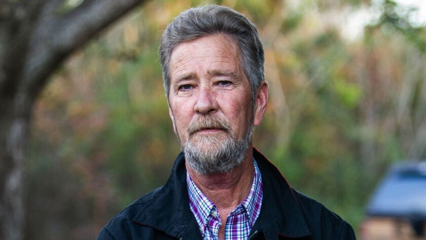 FILE - In this Dec. 5, 2018 file photo, Leslie McCrae Dowless Jr. poses for a portrait outside of hi