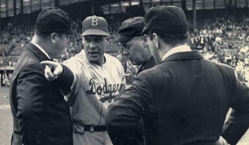 Dodgers manager Leo Durocher moved over to the Giants just three days after the 1948 All-Star Game.