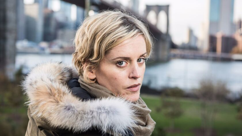 """Olivier Award winner Denise Gough, whose visceral performance as an addict drives """"People, Places & Things"""" at St. Ann's Warehouse, will play Harper in the Broadway run of """"Angels in America."""" She's also shooting """"The Kid Who Would Be King"""" and another film with Keira Knightley."""