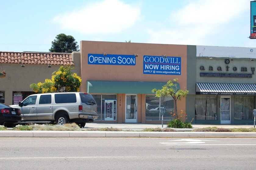 New Goodwill donation center in Hillcrest.