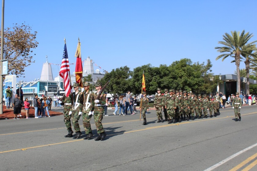 The Miramar Young Marines were named Unit of the Year