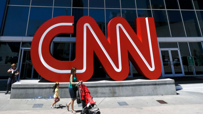 Conservatives have escalated their attack on CNN after three journalists resigned this week.