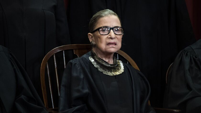 Ginsburg expected to return to Supreme Court bench Tuesday
