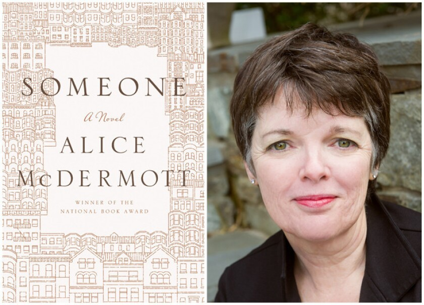 """The cover of the book """"Someone"""" by author Alice McDermott."""