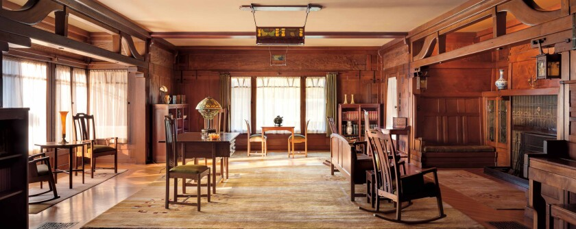 Living Room. The Gamble House