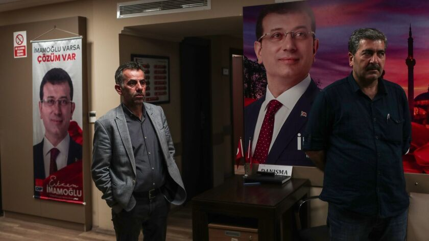 Turkish authorities orders repeat of Istanbul mayoral election, Turkey - 06 May 2019