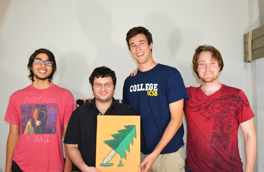 Kevin Cornea, Tyler Baron, Ryan Kroner and Grant Ball have created a gamer-geared YouTube channel called Treesicle.