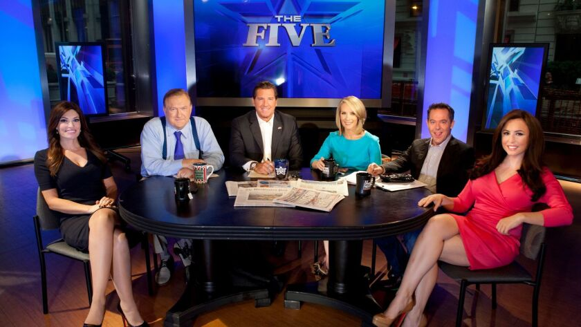 """Andrea Tantaros, right, has filed a new complaint against Fox News. She is a former co-host of Fox News' """"The Five."""""""