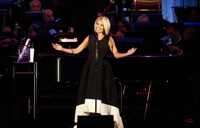LOS ANGELES, ET- Emmy and Tony award winner and Oklahoma Hall of Fame inductee Kristin Chenoweth wa