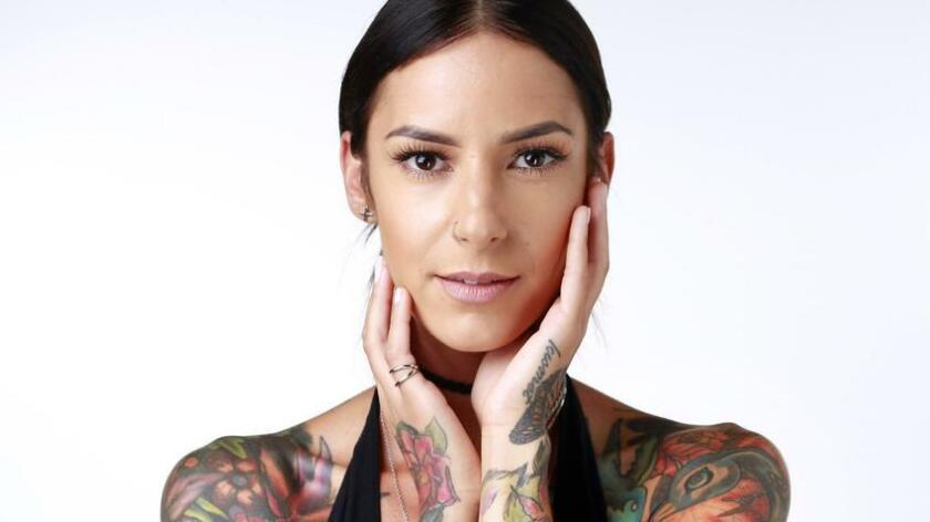 Bahar Atilgan, a bartender and an online boutique owner, has a unique perspective by admitting she wears her tattoos - her tattoos don't wear her. (K.C. Alfred)