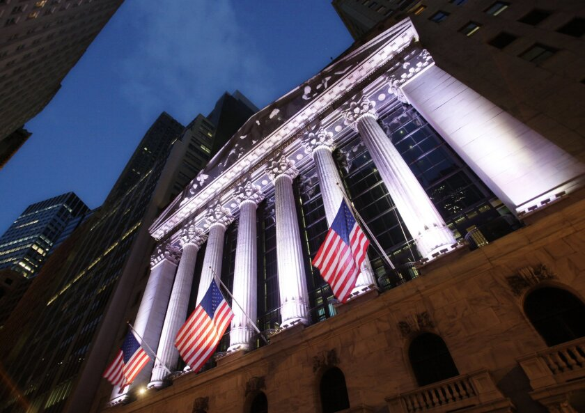 APphoto_Financial Markets Wall Street