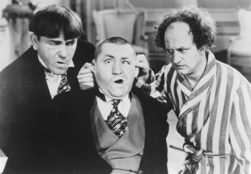 Classic Hollywood: Three Stooges on big screen at Alex Theatre ...
