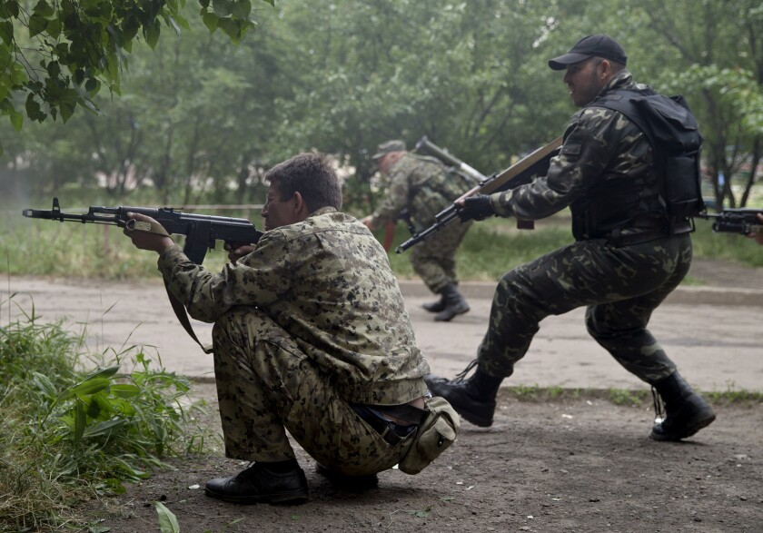 Ukraine fighting