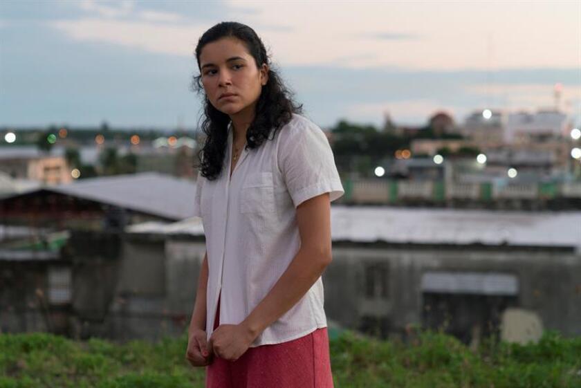 """Fotografía cedida por Annapurna Picture que muestra a la actriz Emily Ríos en su papel para la película """"If Beale Street Could Talk""""."""