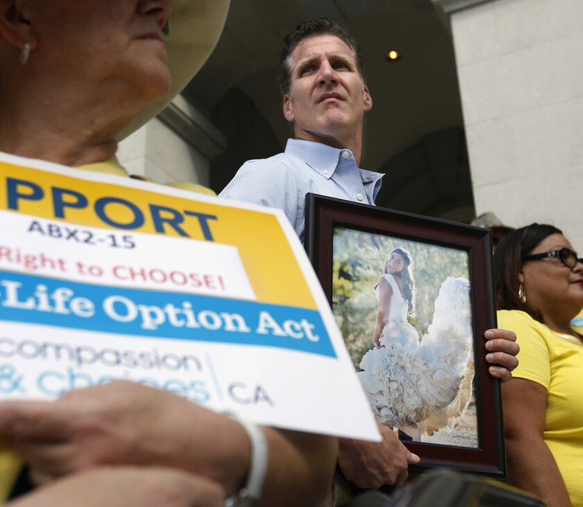 California voters overwhelmingly support end-of-life law, poll finds
