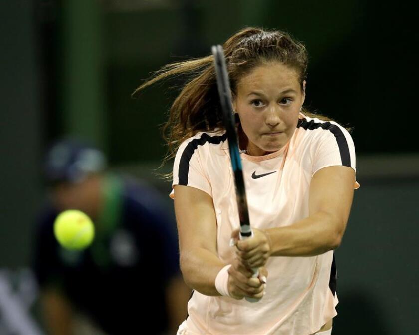 Daria Kasatkina, tenista rusa. EFE/Archivo