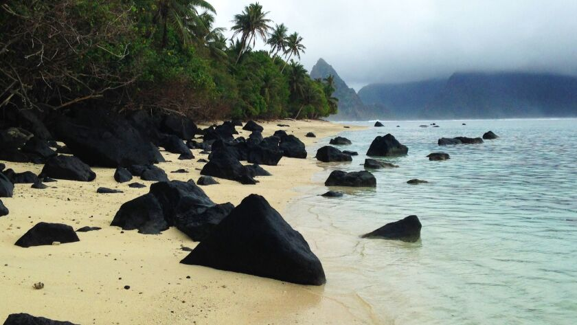 Ofu Lagoon in the National Park of American Samoa, part of the U.S. National Park System.
