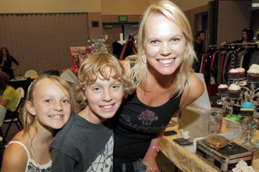 Natalie, Jason, and Ilene Lamb