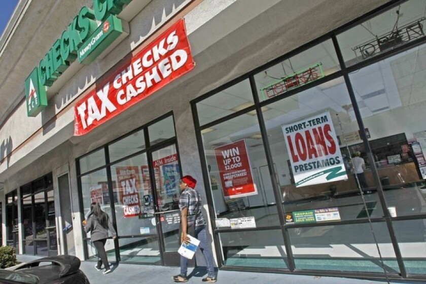 Payday lenders' practices are a prime target of consumer protection efforts.