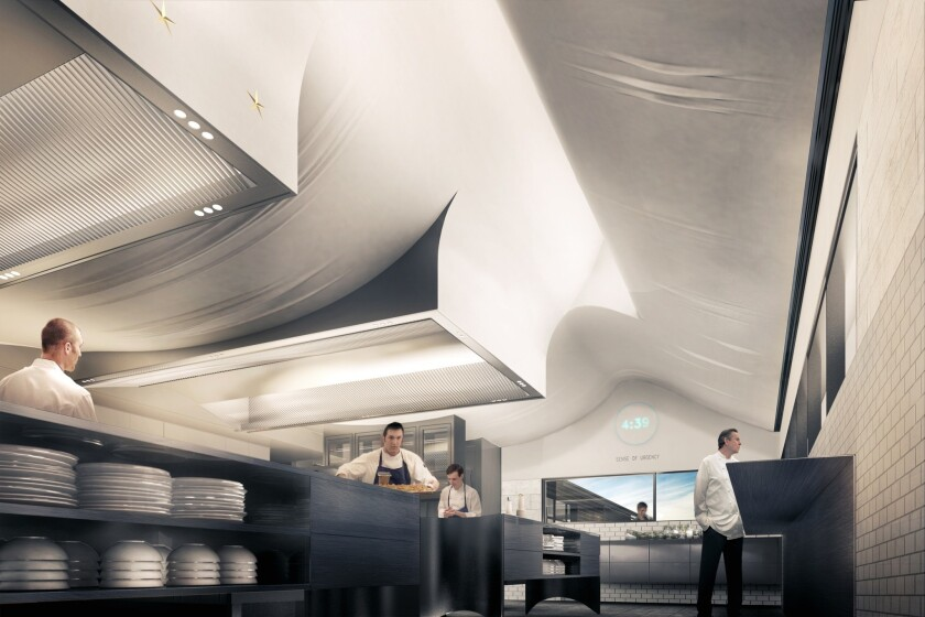 Run A 3 Star Kitchen Out Of Shipping Containers No Problem At French Laundry Los Angeles Times