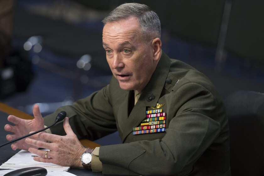 U.S. Marine Corps Gen Joseph F. Dunford, Jr.