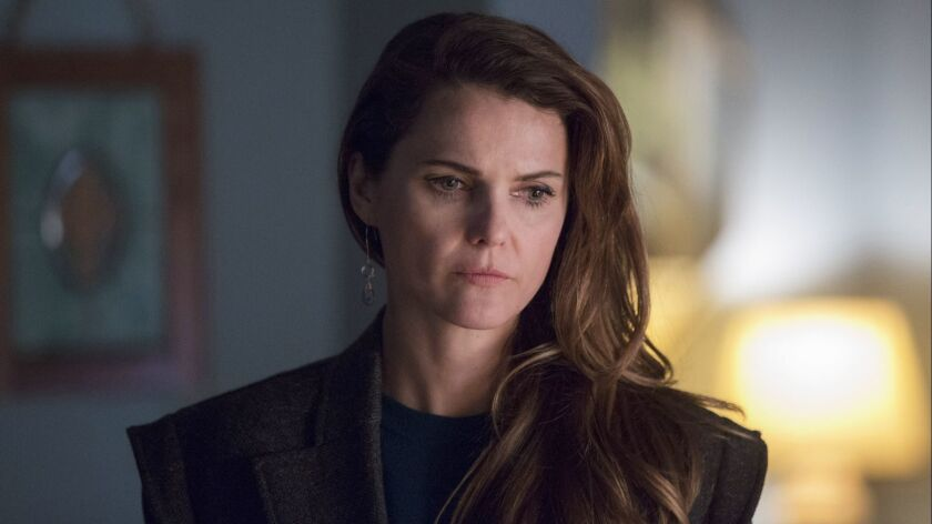 "This image released by FX shows Keri Russell in a scene from ""The Americans."" Russell was nominated"