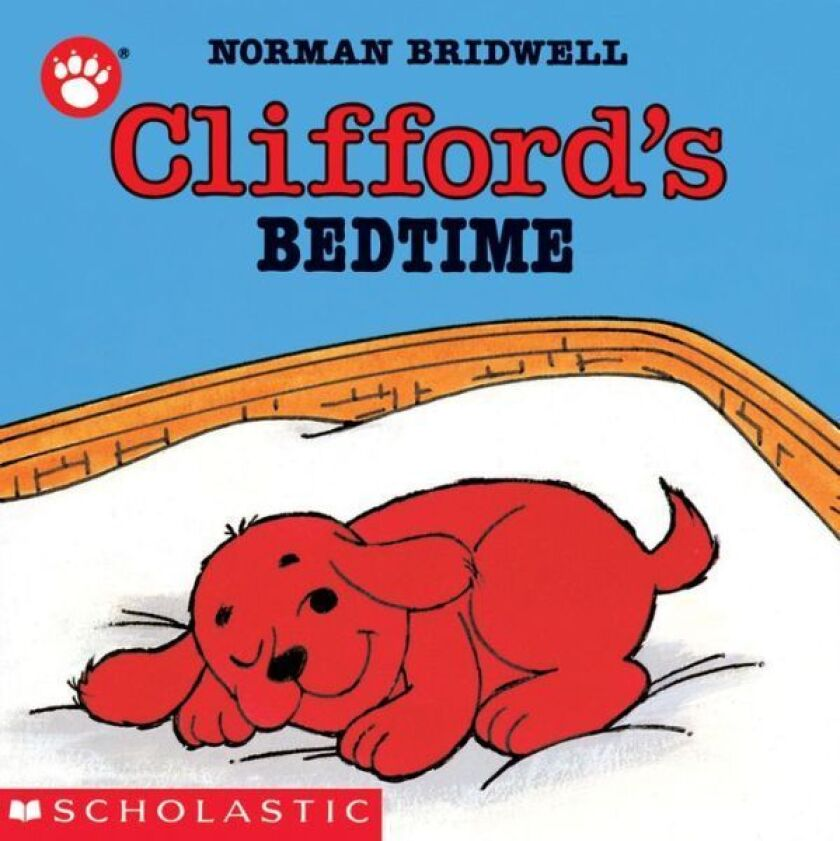 """""""Clifford's Bedtime"""" is one of 1 million books to be donated by Scholastic."""