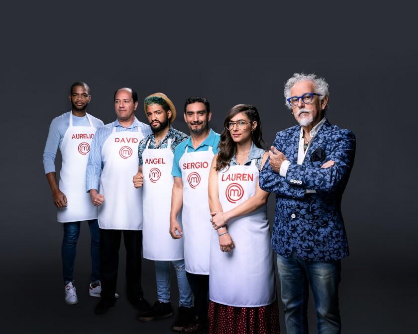 El equipo del chef Ennio Canota.