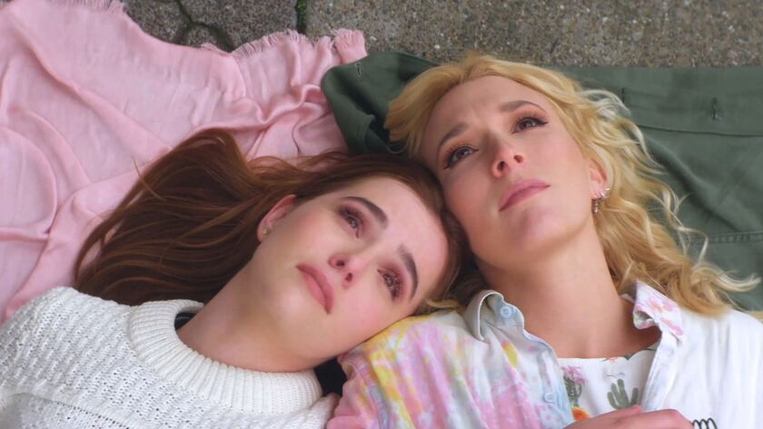 "Zoey Deutch and Madelyn Deutch in ""The Year of Spectacular Men"" movie."