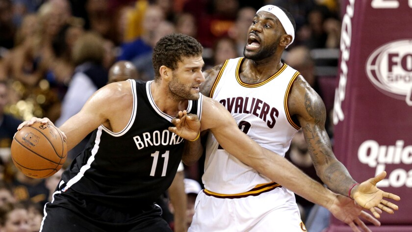 Brook Lopez, LeBron James