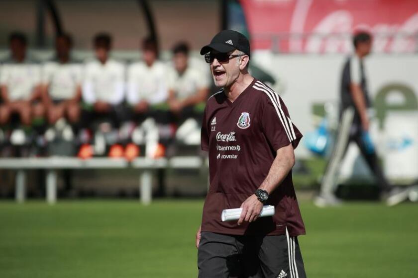 El técnico de la selección mexicana de fútbol, Juan Carlos Osorio. EFE/Archivo