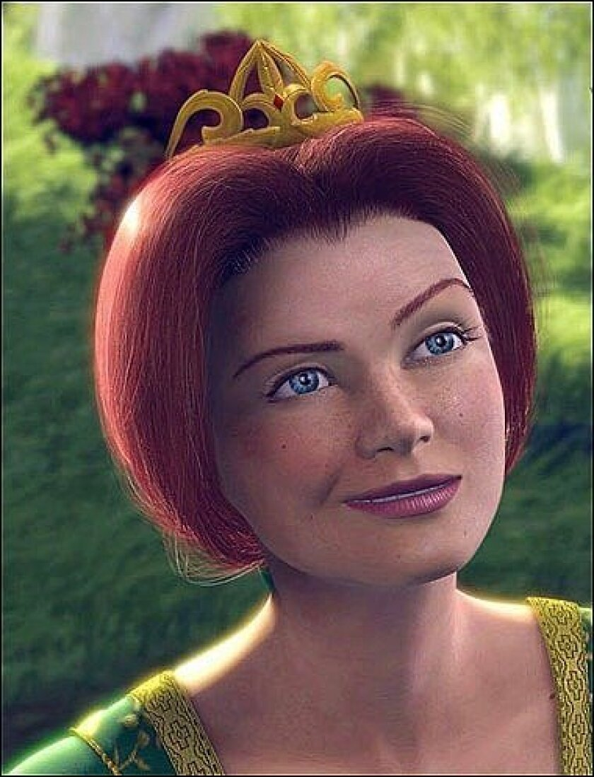 """The early version of Princess Fiona in """"Shrek"""" was so life-like, it disturbed children during test screenings. Animators made tweaks to Fiona's appearance to make her more social acceptable to audiences."""