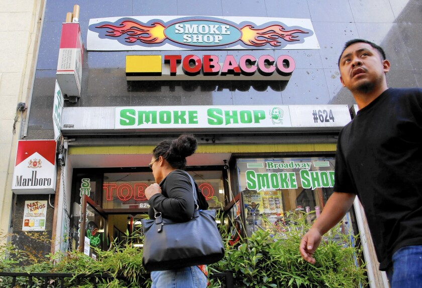 A bill in the Legislature, SB 151, would raise the legal age to buy cigarettes from 18 to 21.