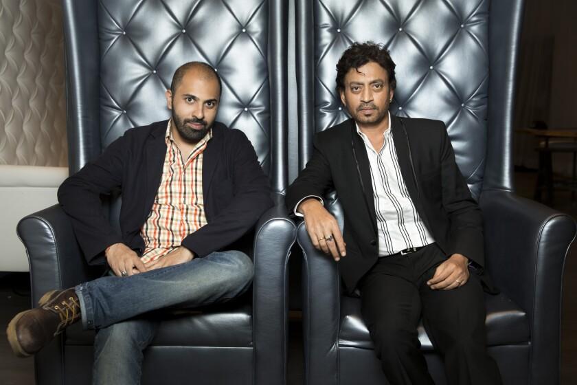 Ritesh Batra and Irrfan Khan