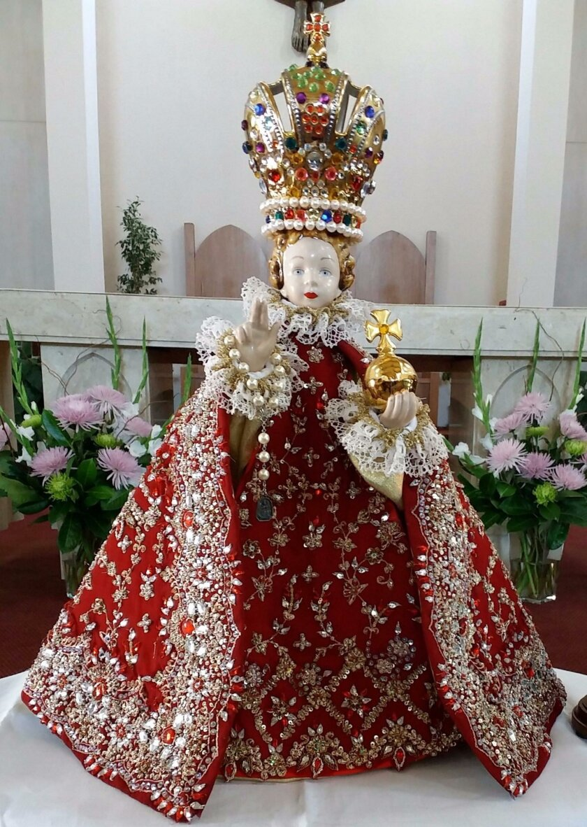 The Infant Jesus of Prague statue that Mary, Star of the Sea will receive has been blessed at the Shrine of Our Lady of Victory Church in Prague, Czech Republic and the Divine Mercy Shrine in Poland, along with many prayer groups and Masses in British Columbia, Canada.
