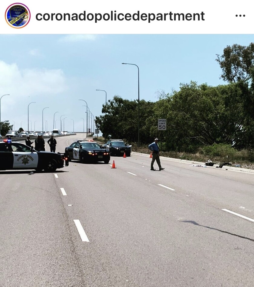The San Diego-Coronado Bridge was closed for two hours Wednesday after a man was seen walking on the bridge.