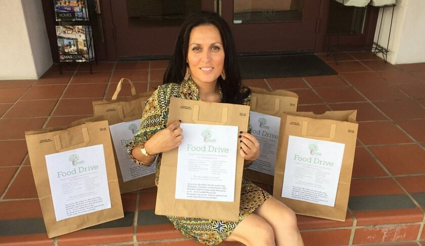Real estate agent Candi DeMoura of Berkshire Hathaway HomesServices California Properties is organizing an annual holiday food drive for needy families.