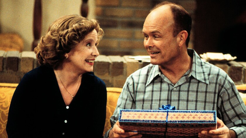 """Debra Jo Rupp and Kurtwood Smith in """"That '70s Show."""""""