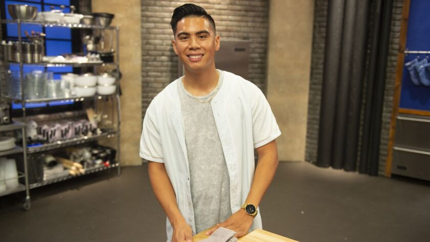 """Alten Poblete of Mira Mesa is a contestant on Season 15 of the Food Network's """"Worst Cooks in America."""" The show kicks off on Sunday, Jan. 6."""
