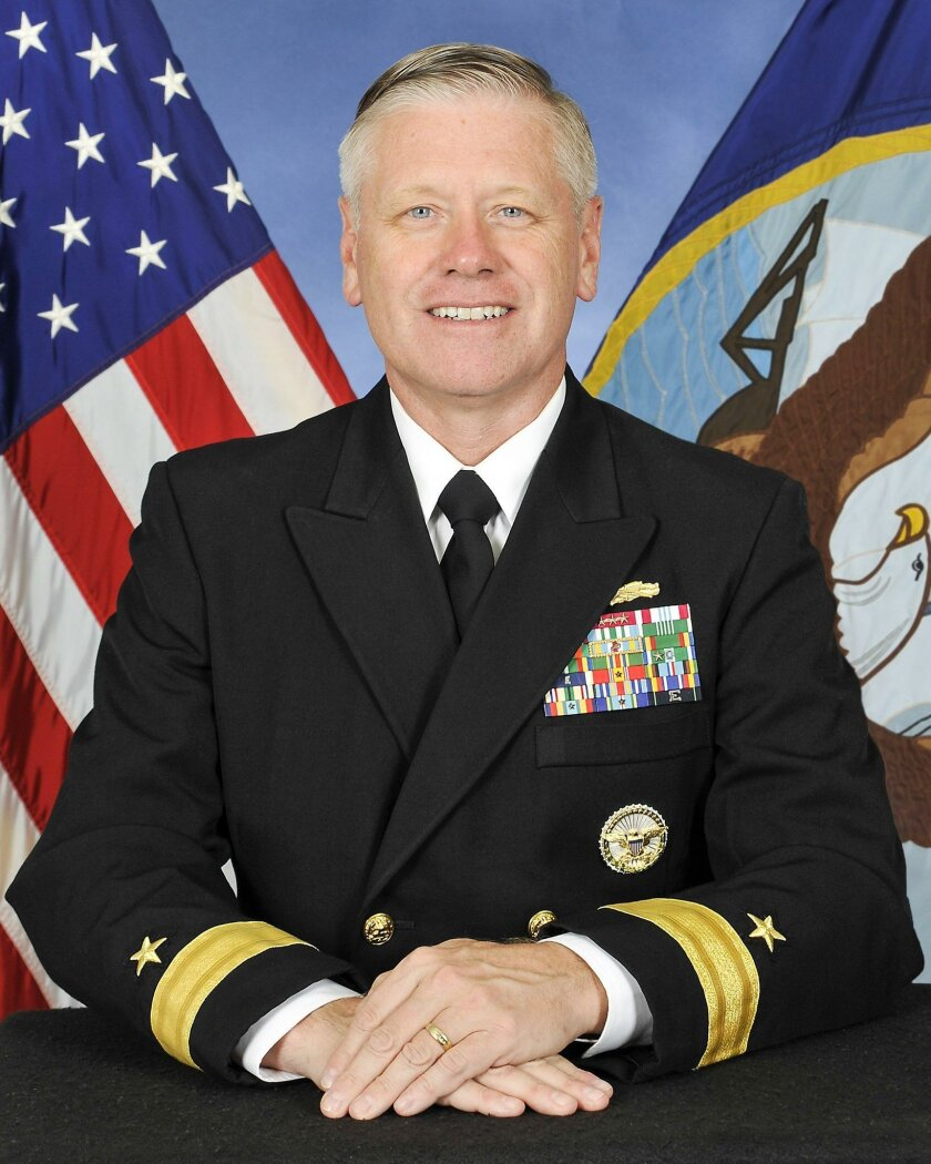 "Navy Rear Adm. Richard L. ""Rick"" Williams"
