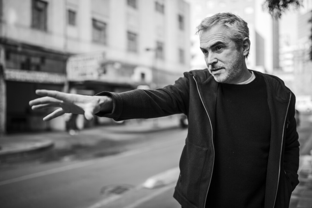 Alfonso Cuaron in Mexico City