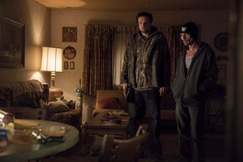 "Matt Jones and Charles Baker in a scene from ""El Camino: A Breaking Bad Movie."""