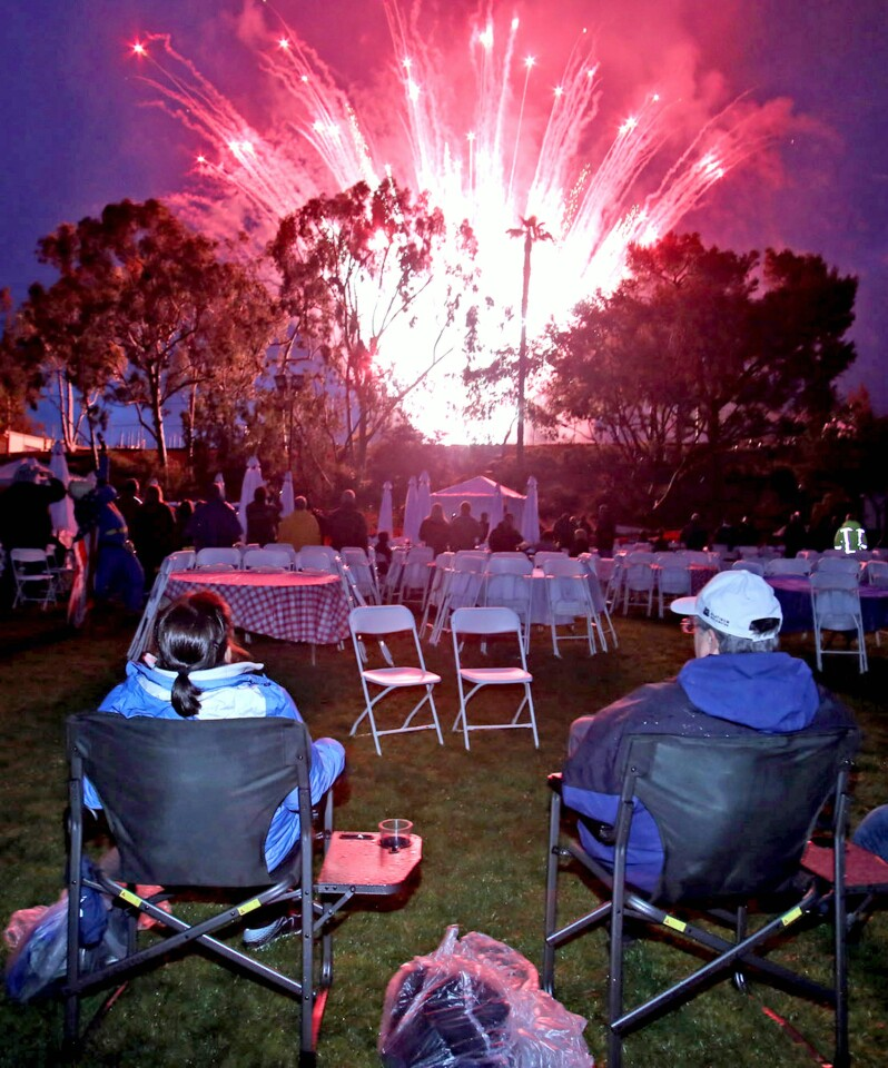 Photo Gallery: Fiesta Days fireworks at Memorial Park