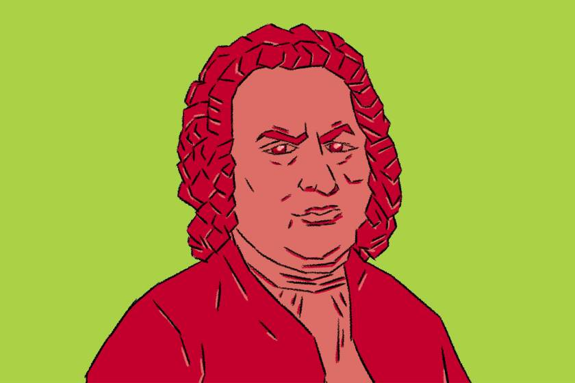 Illustration of Johann Sebastian Bach