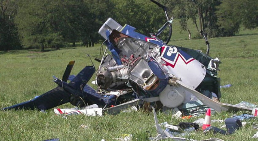 Texting contributed to fatal crash of medical helicopter, NTSB says