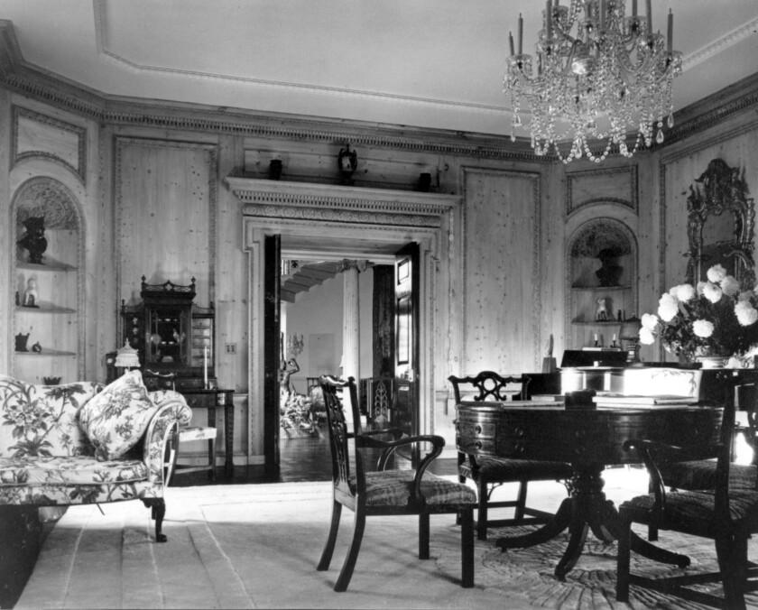 Jack Warner's house in Los Angeles.