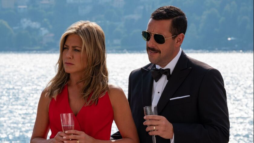 'Murder Mystery' stars Jennifer Aniston and Adam Sandler.